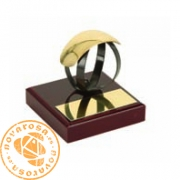 Figura de diseño en latón - Voleibol