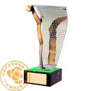 Figura de diseño en latón - Portero de Fútbol