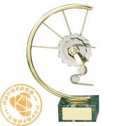 Figura de diseño en latón - Ciclismo