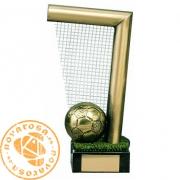 Figura de diseño en latón - Fútbol