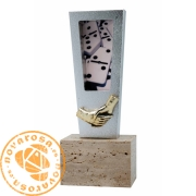 Resin design trophy/sculpture