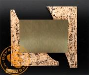 Placa de diseño en resina