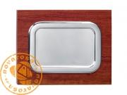 Placa de alta calidad en aluminio