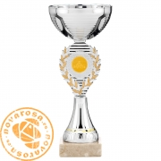 Silver economic disc holder cup