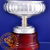Copa de orfebrería en baño de plata