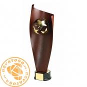 Brass design figure - Soccer