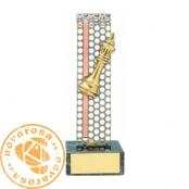 Brass design figure - Chess