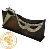 Brass design figure - Carnival