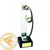 Brass design figure - Basketball