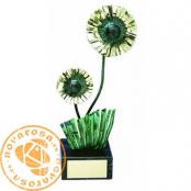 Brass design figure - Flowers