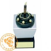 Brass design figure - Birthday