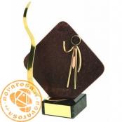 Brass design figure - Business Man