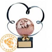 Figura de diseño en latón - Premio Naranja