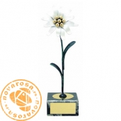 Brass design figure - Flowers