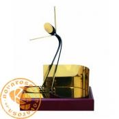 Figura de diseño en latón - Patinaje Artístico