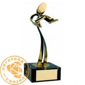 Brass design figure - Hairdresser