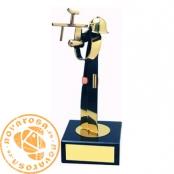Brass design figure - Paintball