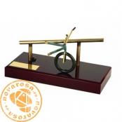 Brass design figure - XByke Freestyle