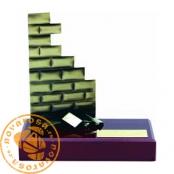 Brass design figure - Bricklayer