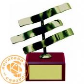 Brass design figure - Zodiac Signs - Aquarius