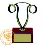 Brass design figure - Zodiac Signs - Aries