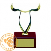 Brass design figure - Zodiac Signs - Taurus