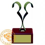 Brass design figure - Zodiac Signs - Gemini