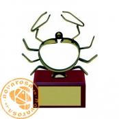 Brass design figure - Zodiac Signs - Cancer