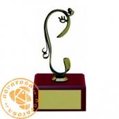 Brass design figure - Zodiac Signs - Virgo