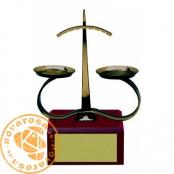 Brass design figure - Zodiac Signs - Libra