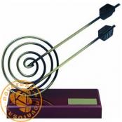 Brass design figure - Archery
