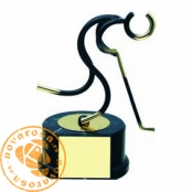 Figura de diseño en latón - Hockey