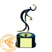 Brass design figure - Petanque
