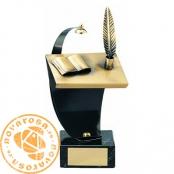 Brass design figure - Literature