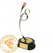 Brass design figure - Soccer Referee