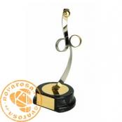 Brass design figure - Handball