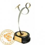 Figura de diseño en latón - Cantante/Karaoke