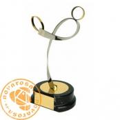 Brass design figure - Rugby