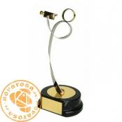 Brass design figure - Cine