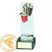 Brass design figure - Red Lantern