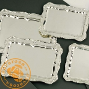 Bandeja de joyería en plata