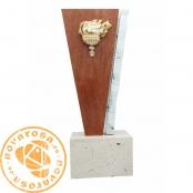 Trofeo/Escultura de diseño en resina