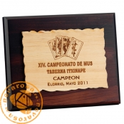 Placa de madera