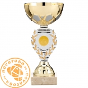 Golden economic disc holder cup